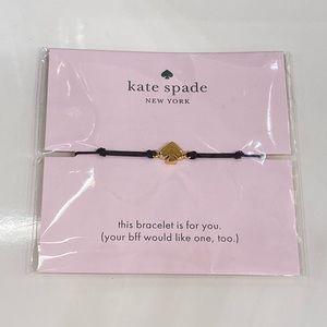 Kate Spade Black Bracelet